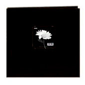 Pioneer - 3 Ring Binder - 12 x 12 Cloth Scrapbook - Black
