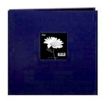 Pioneer - 3 Ring Binder - 12 x 12 Cloth Scrapbook - Blue