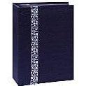 Pioneer - Tone Fabric Sewn Album - Hold 208 4x6 Inch Photos - Black - 2 Up Album