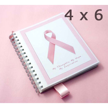 Per Annum Inc. - My Book - The Pink Ribbon Adaptable Journal - Breast Cancer Awareness - Small, CLEARANCE