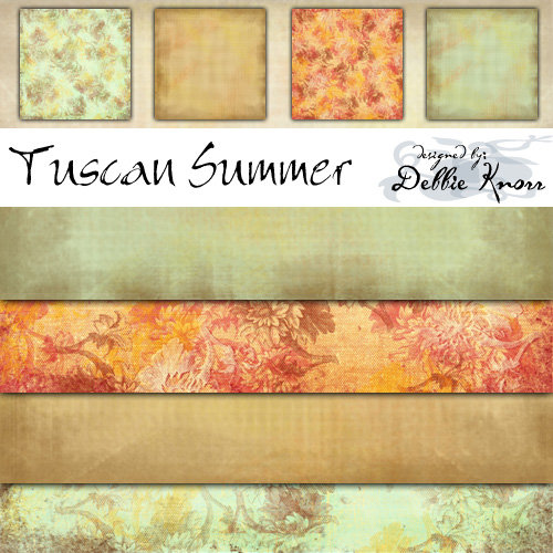 E-Paper Kit - Tuscan Summer 1