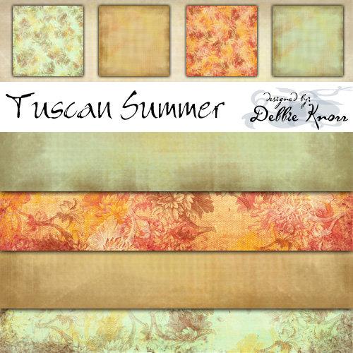 E-Paper Kit - Tuscan Summer 1