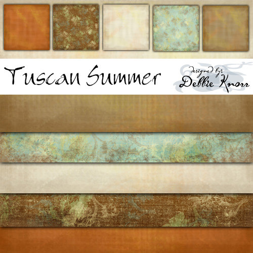 E-Paper Kit - Tuscan Summer 3
