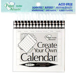 Paper Accents - Create Your Own Calendar - 4 x 4 - 14 Month