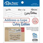 Paper Accents - Templates - Address-a-Lope - Curvy