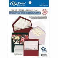 Paper Accents - Templates - Envelope Liner