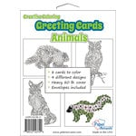 Paper Accents - Creative Coloring Collection - Greeting Cards - Animals