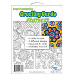 Paper Accents - Creative Coloring Collection - Greeting Cards - Abstract