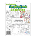 Paper Accents - Creative Coloring Collection - Greeting Cards - Celebration