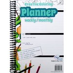 Paper Accents - Creative Coloring Collection - Planner - Weekly and Monthly - Undated