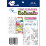 Paper Accents - Creative Coloring Collection - Bookmarks - Seasons