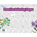 Paper Accents - Creative Coloring Collection - 8.5 x 11 Coloring Pad