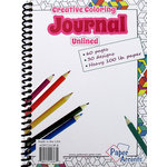 Paper Accents - Creative Coloring Collection - Journal - 5 x 7 - Blank