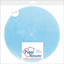 Paper Accents - 10 5/8 Inch Clear Plastic Clock Face - Blank