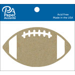 Paper Accents - Chipboard Shapes - Football