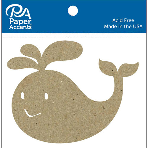 Paper Accents - Chipboard Shapes - Whale