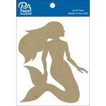 Paper Accents - Chipboard Shapes - Mermaid