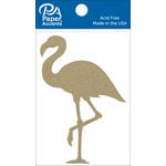 Paper Accents - Chipboard Shapes - Flamingo
