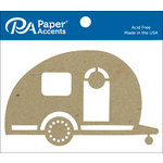 Paper Accents - Chipboard Shapes - Camper