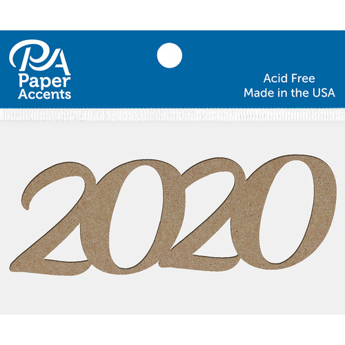 Paper Accents - Chipboard Shape - 2020 - Natural
