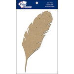 Paper Accents - Chipboard Shapes - Feather