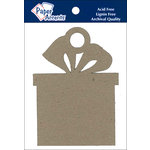 Paper Accents - Christmas - Chipboard Shapes - Ornament - Present