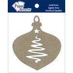 Paper Accents - Christmas - Chipboard Shapes - Ornament - Tree
