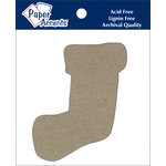 Paper Accents - Christmas - Chipboard Shapes - Stocking
