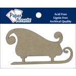 Paper Accents - Christmas - Chipboard Shapes - Sleigh