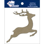 Paper Accents - Christmas - Chipboard Shapes - Reindeer