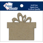Paper Accents - Christmas - Chipboard Shapes - Present