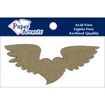 Paper Accents - Chipboard Shapes - Heart with Wings