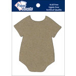 Paper Accents - Chipboard Shapes - Onesie