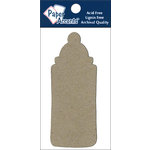 Paper Accents - Chipboard Shapes - Baby Bottle