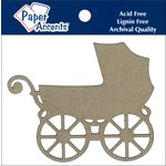 Paper Accents - Chipboard Shapes - Baby Carriage