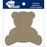 Paper Accents - Chipboard Shapes - Teddy Bear