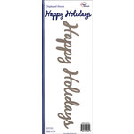 Paper Accents - Christmas - Chipboard Shapes - Happy Holidays