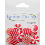 Buttons Galore - Button Fusion Collection - Red Carpet
