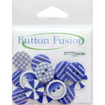 Buttons Galore - Button Fusion Collection - House Of Blues