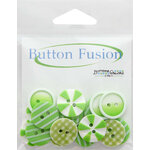 Buttons Galore - Button Fusion Collection - Lime Lite