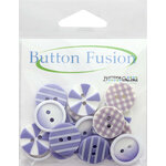 Buttons Galore - Button Fusion Collection - Plum Crazy
