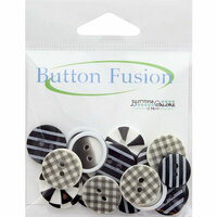 Buttons Galore - Button Fusion Collection - Optical Illusion