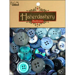 Buttons Galore - Haberdashery Buttons - Classic Blues