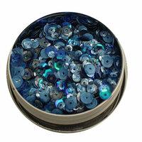 28 Lilac Lane - Sequin Tin - Denim Blues