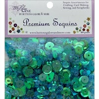 28 Lilac Lane - Premium Sequins - Peacock Feather
