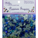 28 Lilac Lane - Premium Sequins - Indigo Mint