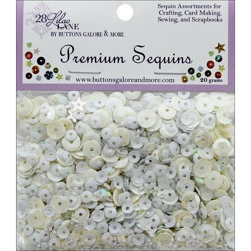 28 Lilac Lane - Premium Sequins - Winter Whites