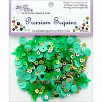 28 Lilac Lane - Christmas - Premium Sequins - Forest