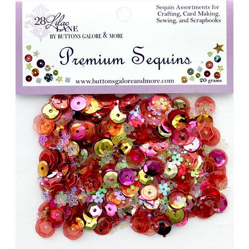 28 Lilac Lane - Premium Sequins - Coral