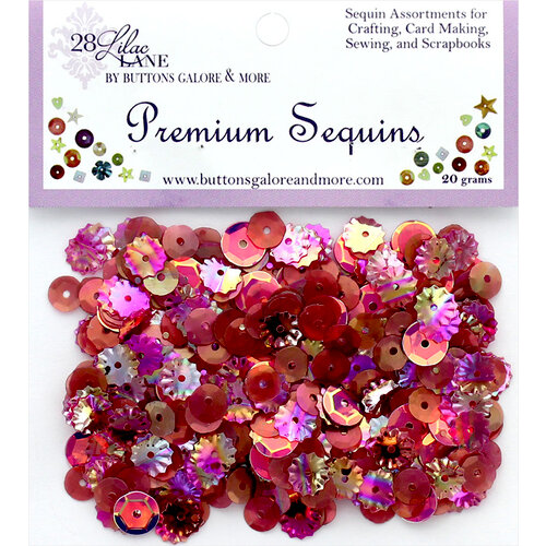 28 Lilac Lane - Premium Sequins - Wine